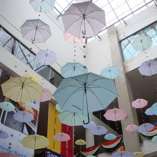 Umbrella art