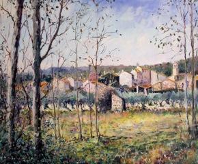 PICT0007 Villecroze, effet d'automne (Provence). 8F.46x38cm..jpegPICT0007 Villecroze, effet d'automne (Provence).8F.46x38cm.