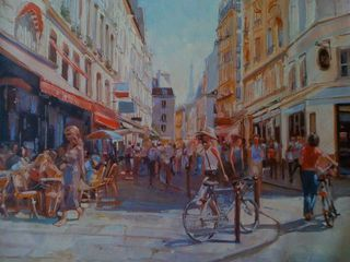Henri Lepetit, France marketplace, Westport River Gallery