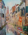 Le Campanile de Santa Maria Venise