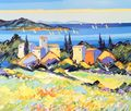 Kerfily, Landscape, French Impressionist, Westport River Gallery, Westport, CT