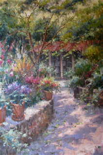 Paprocki, Garden Entrance, Westport River Gallery