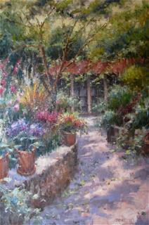 Paprocki, Garden Entrance, Westport River Gallery