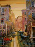 Le Canal, 21x18.5, $2500
