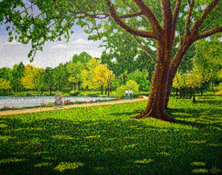 Shilson, River Walk, 16x20, 2012, Westport River Gallery