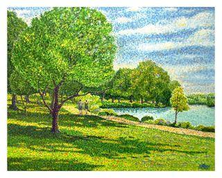 River Walk, 16x20, Shilson, Westport River Gallery