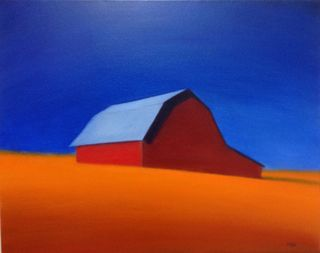 Low Res, 16x20, 2012 Bright Blue sky, Mona, Westport River Gallery, Westport CT