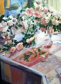 Courchia, Tabletop Floral, Westport River Gallery