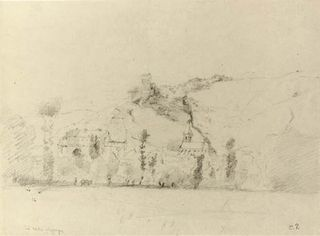 Camille Pissarro, drawing