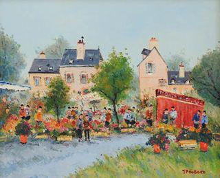 Jean Pierre Dubord, Westport River Gallery, les marchats de fleurs, 20x24