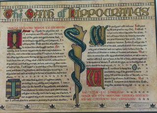 Hipppocratic oath