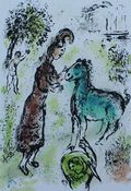 Chagall Athena and the Horse