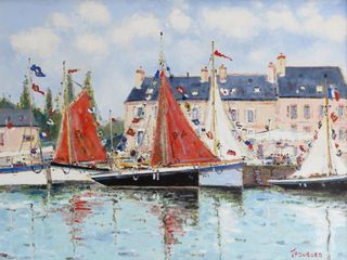 Dubord, Westport River Gallery, Medium