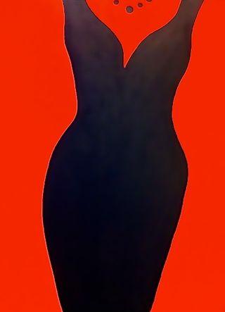 Red Dress 18x24