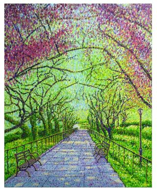 Shilson Conservatory Garden Central Park NY