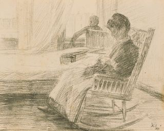 Woman in Rocking Chair