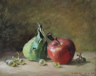 Pascal Dabere apple pear