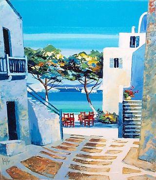 X Terrasse a Mykonos