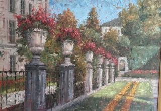 E. J. Paprocki, westport River Gallery, Garden
