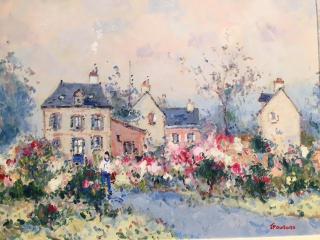 Floral Pathway, westport river gallery, Jean Pierre Dubord