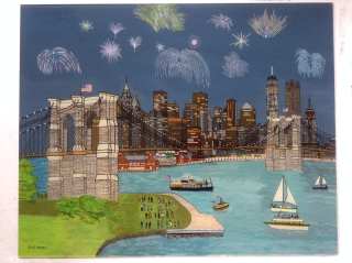 Sue Bond, Brooklyn Bridge, Westport River Galery