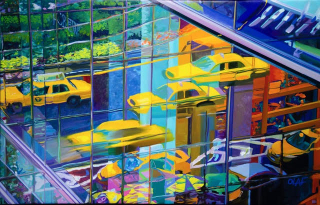 Olaf  20x40  Taxis westport river gallery