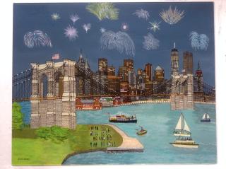 Sue Bond, Brooklyn Bridge, Westport River Galery