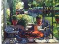 Courchia, Patio, Westport River Gallery
