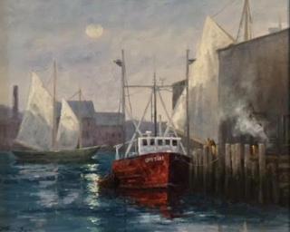 Sage, Boats, westport River Gallery (1)