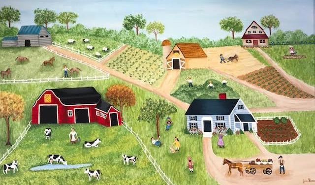 Joan Sloan  Folk Art