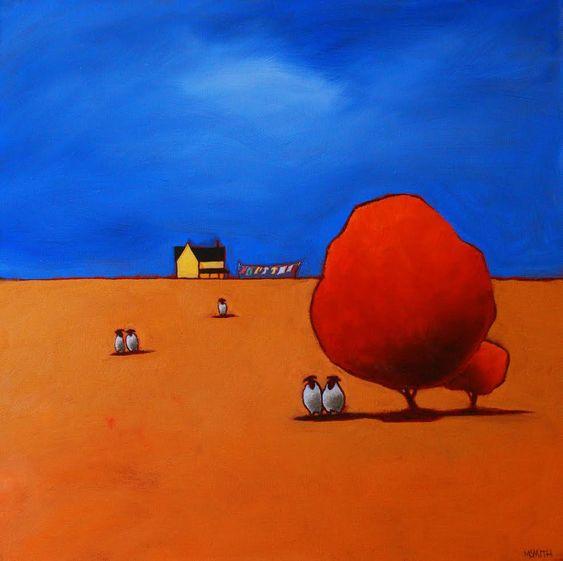 Monday  Westport River Gallery  20x20