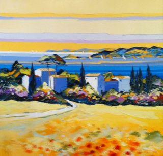 X Kerfily Les Coquelcots Provence, 16x16