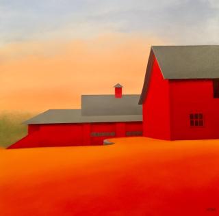 Mona, 36x36, gauklt, westport river gallery