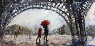Rain in Paris_12x24_Alexandrina_The Westport River Gallery