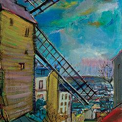 A 11 Moulin de la Galette  Montmartre 2800
