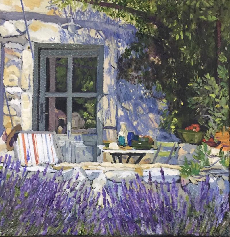 Courchia  Back Garden