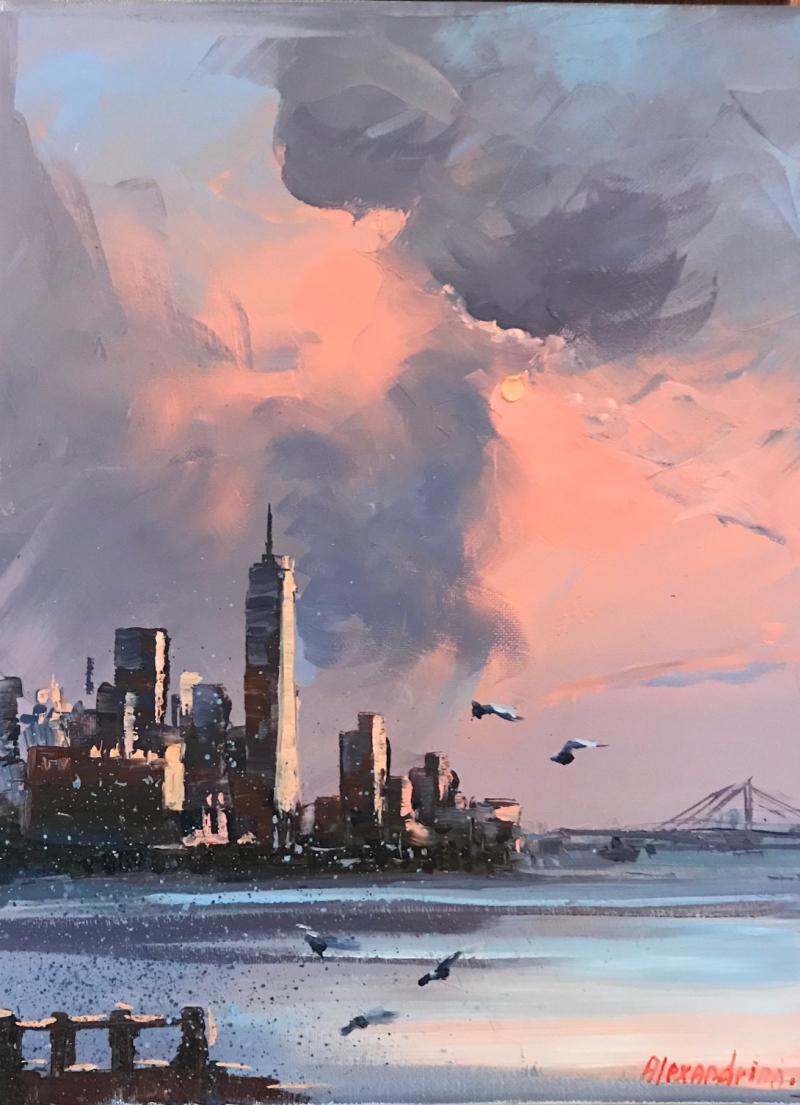 NYC 11x14  Skyscraper
