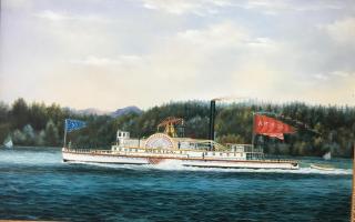America steamboat
