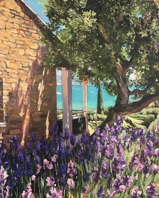 Lavender 18x15