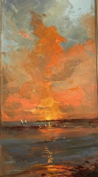 Alexandrina sunrise
